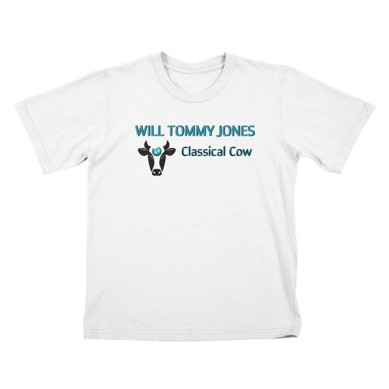 Classical Cow Tee Kids T-Shirt by Will's Buckin' Stuff