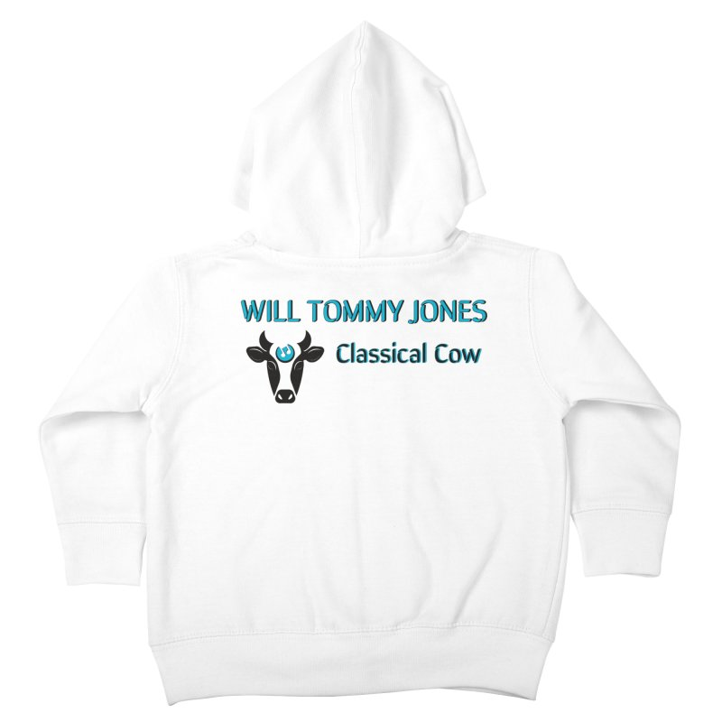 Classical Cow Tee Kids Toddler Zip-Up Hoody by Will's Buckin' Stuff