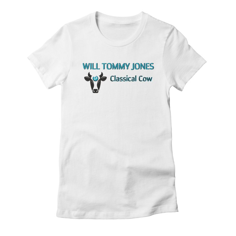 Classical Cow Tee Women's Fitted T-Shirt by Will's Buckin' Stuff