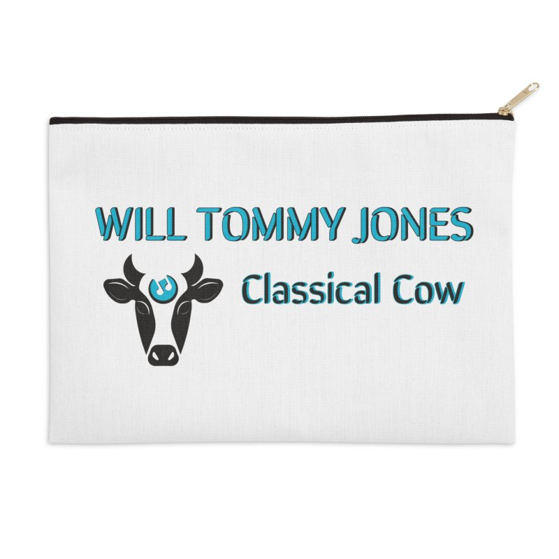 Classical Cow Tee Accessories Zip Pouch by Will's Buckin' Stuff