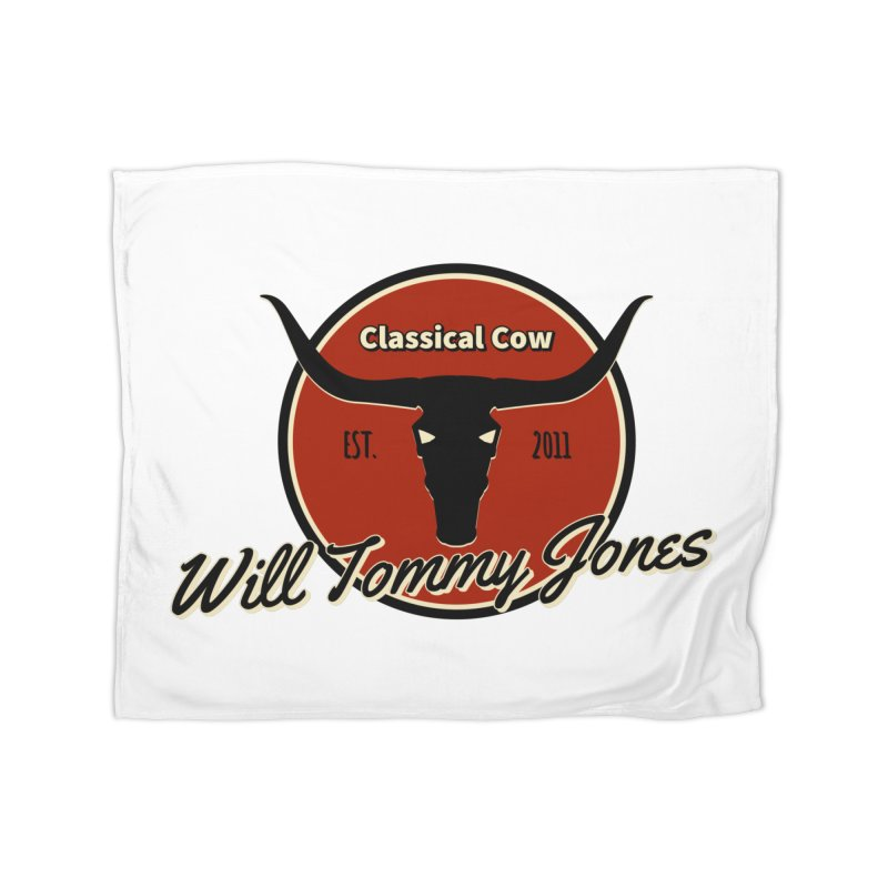 WTJ Cow Design II Home Blanket by Will's Buckin' Stuff