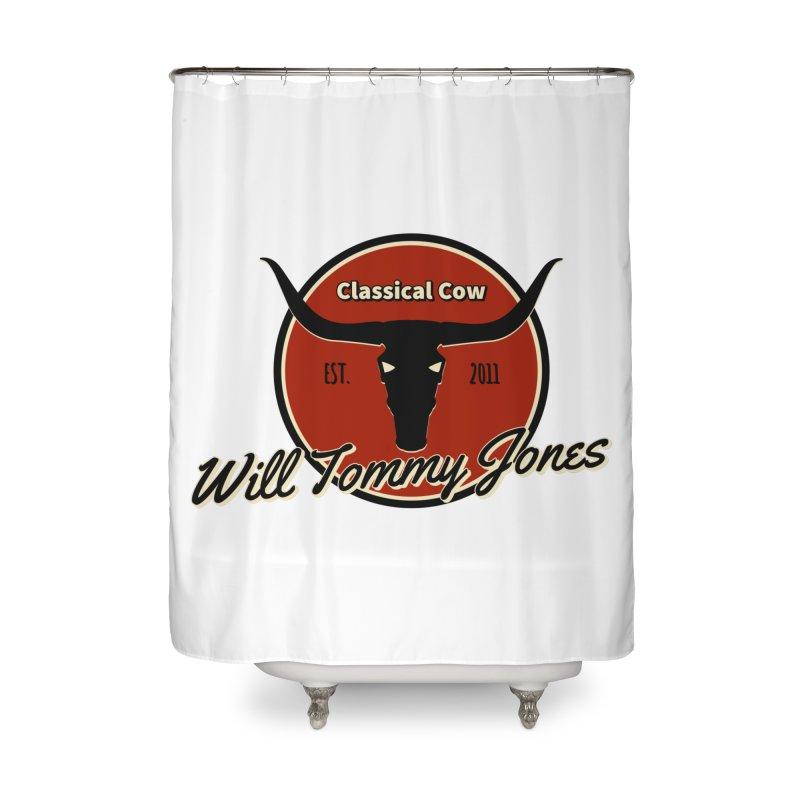 WTJ Cow Design II Home Shower Curtain by Will's Buckin' Stuff