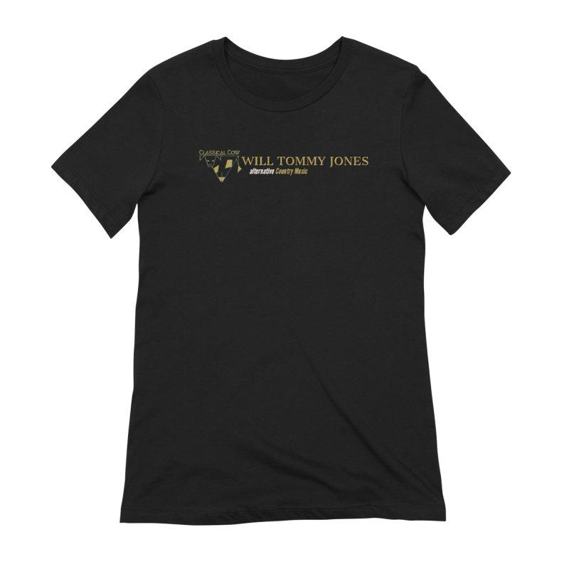 Golden Cow Women's Extra Soft T-Shirt by Will's Buckin' Stuff
