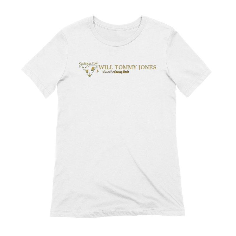 Golden Cow Women's T-Shirt by Will's Buckin' Stuff