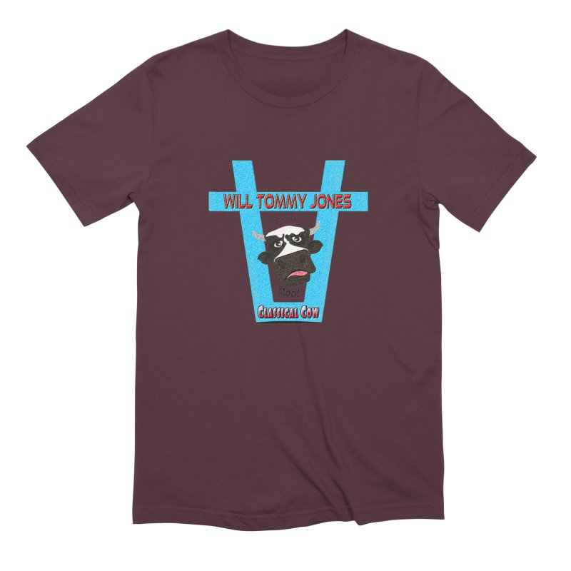 Will's Logo Merch Men's T-Shirt by Will's Buckin' Stuff