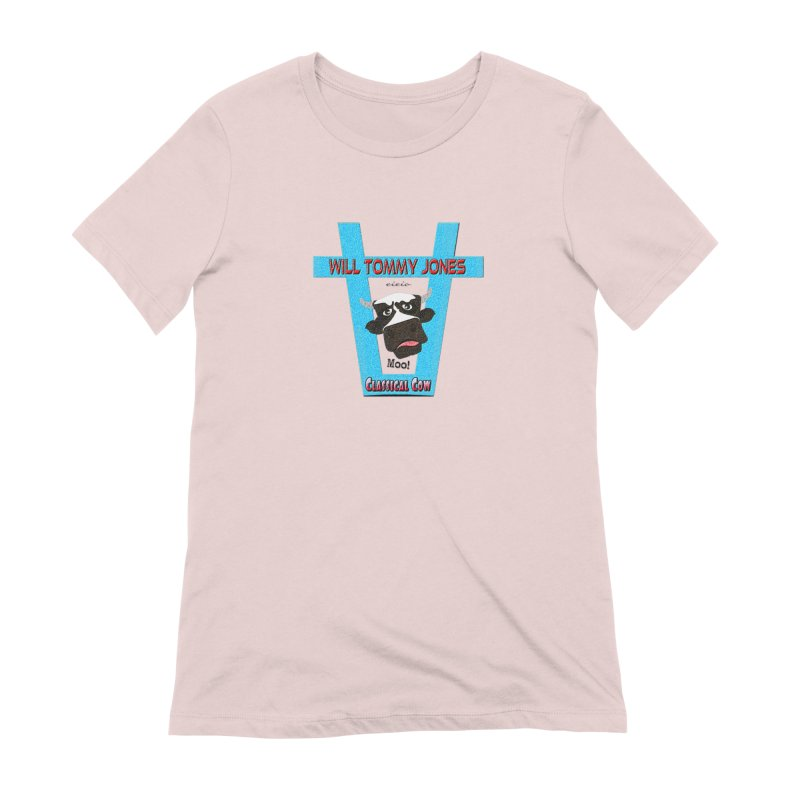 Will's Logo Merch Women's T-Shirt by Will's Buckin' Stuff