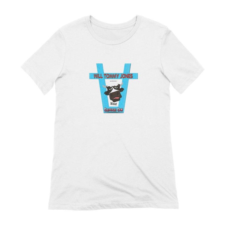 Will's Logo Merch Women's Extra Soft T-Shirt by Will's Buckin' Stuff
