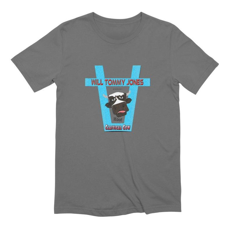 Will's Logo Merch Men's Extra Soft T-Shirt by Will's Buckin' Stuff