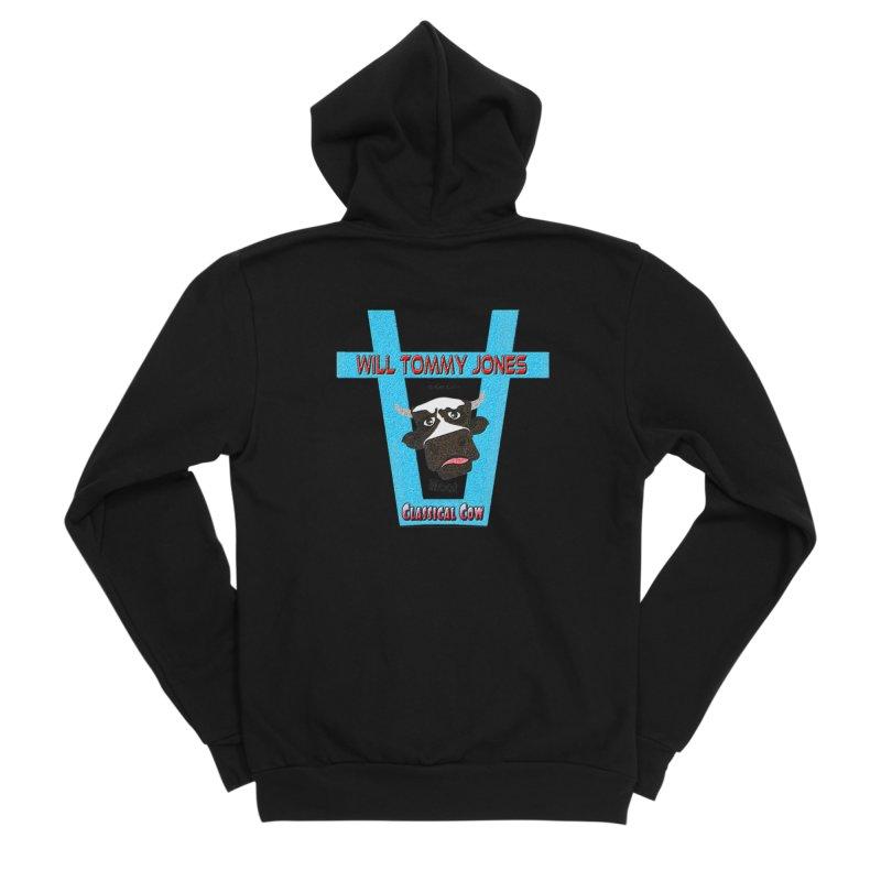 Will's Logo Merch Men's Zip-Up Hoody by Will's Buckin' Stuff
