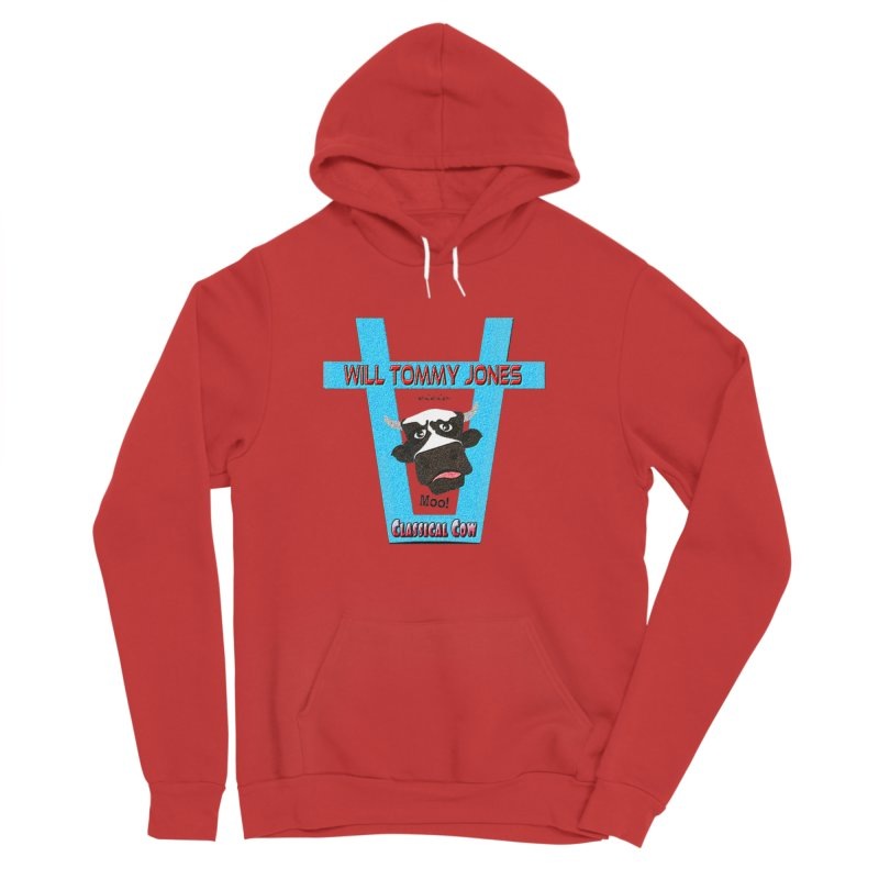 Will's Logo Merch Men's Sponge Fleece Pullover Hoody by Will's Buckin' Stuff