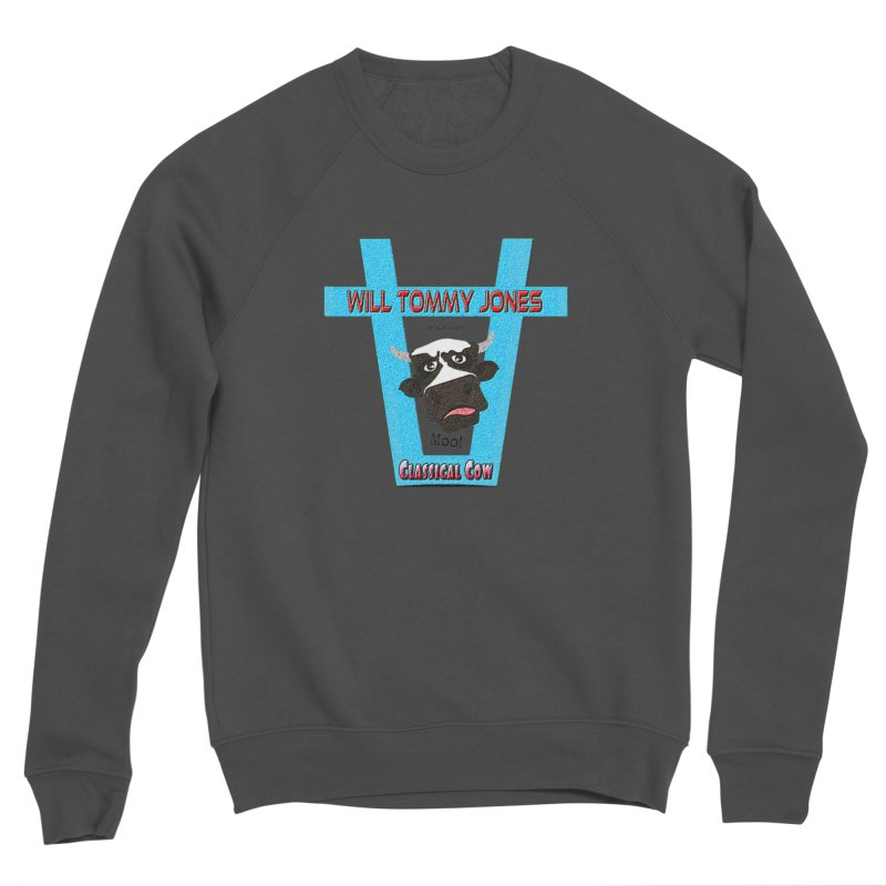 Will's Logo Merch Men's Sponge Fleece Sweatshirt by Will's Buckin' Stuff