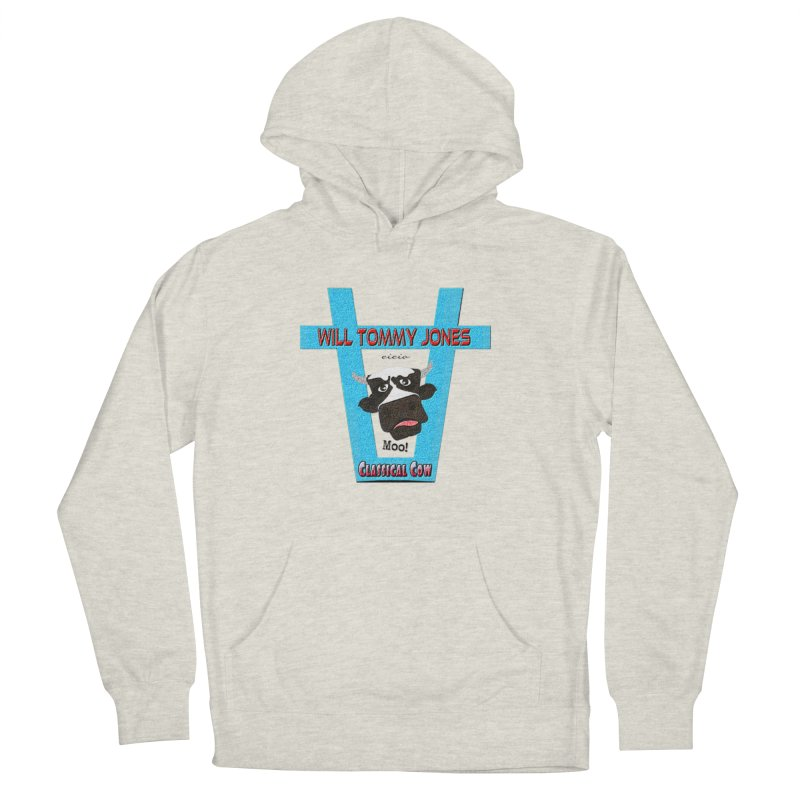 Will's Logo Merch Men's French Terry Pullover Hoody by Will's Buckin' Stuff