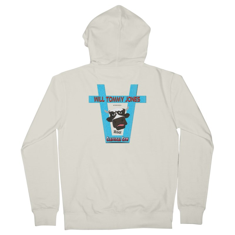 Will's Logo Merch Women's French Terry Zip-Up Hoody by Will's Buckin' Stuff