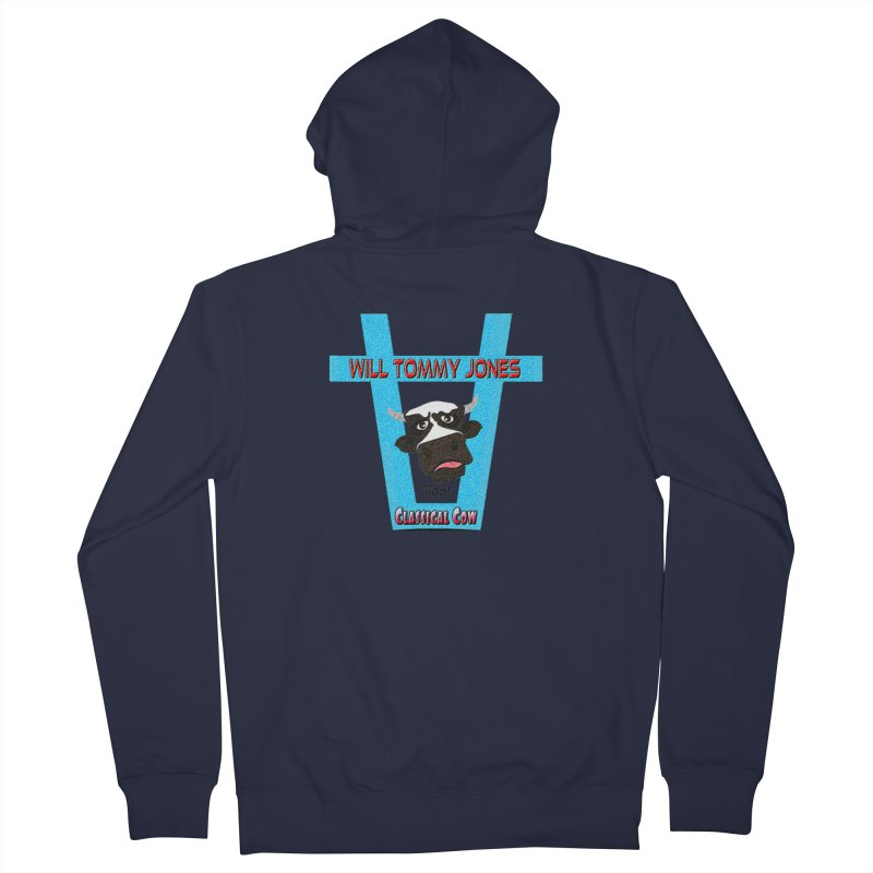Will's Logo Merch Men's Zip-Up Hoody by Will's Buckin' Stuff