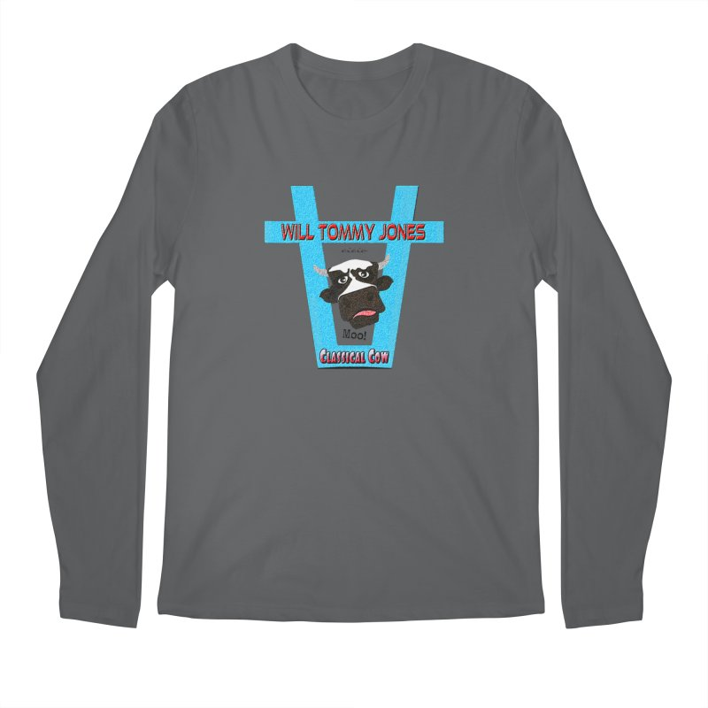 Will's Logo Merch Men's Longsleeve T-Shirt by Will's Buckin' Stuff
