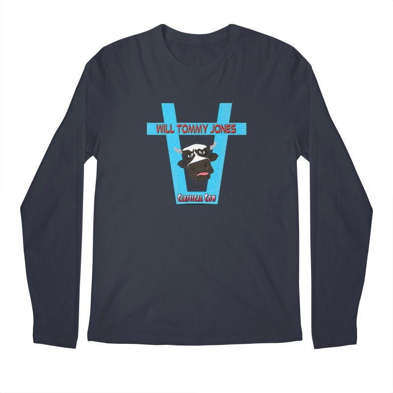 Will's Logo Merch Men's Longsleeve T-Shirt by Will's Buckin' Stuff