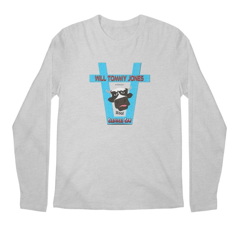 Will's Logo Merch Men's Regular Longsleeve T-Shirt by Will's Buckin' Stuff