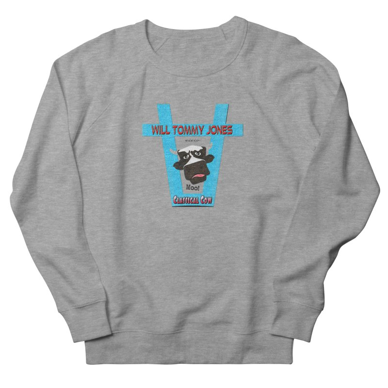 Will's Logo Merch Men's French Terry Sweatshirt by Will's Buckin' Stuff