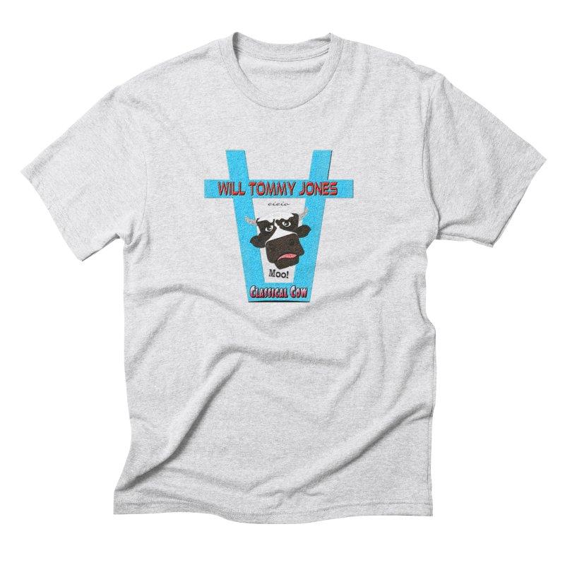 Will's Logo Merch Men's Triblend T-Shirt by Will's Buckin' Stuff