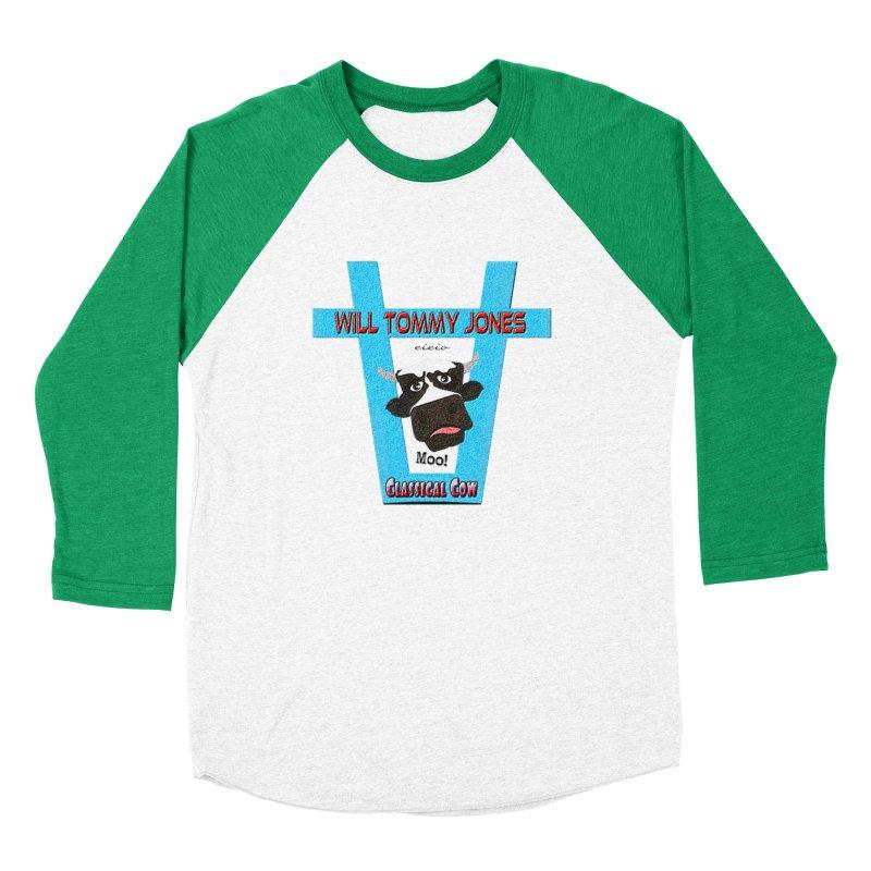 Will's Logo Merch Men's Baseball Triblend Longsleeve T-Shirt by Will's Buckin' Stuff