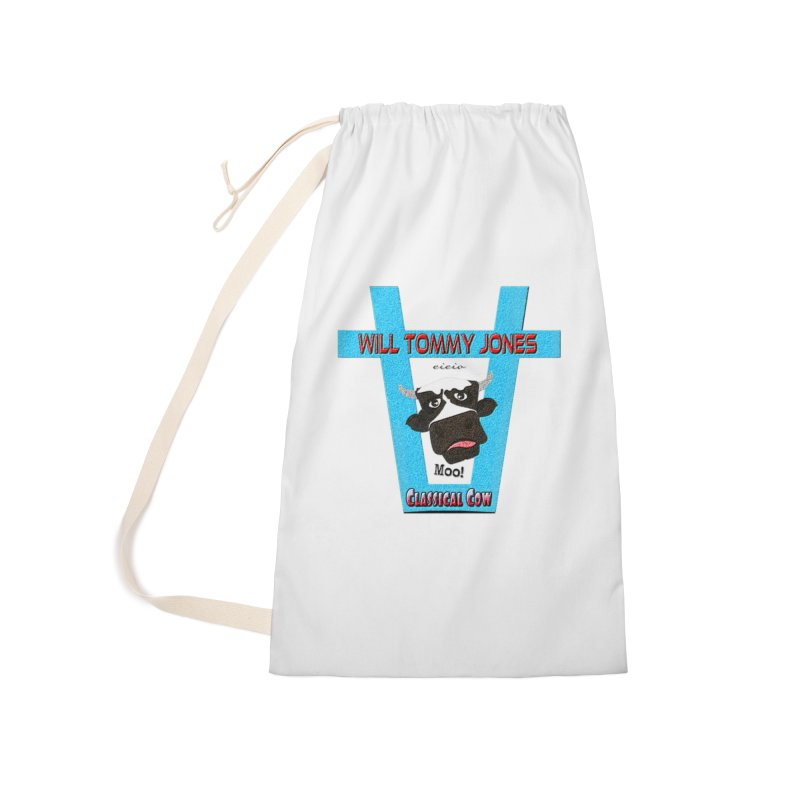 Will's Logo Merch Accessories Laundry Bag Bag by Will's Buckin' Stuff