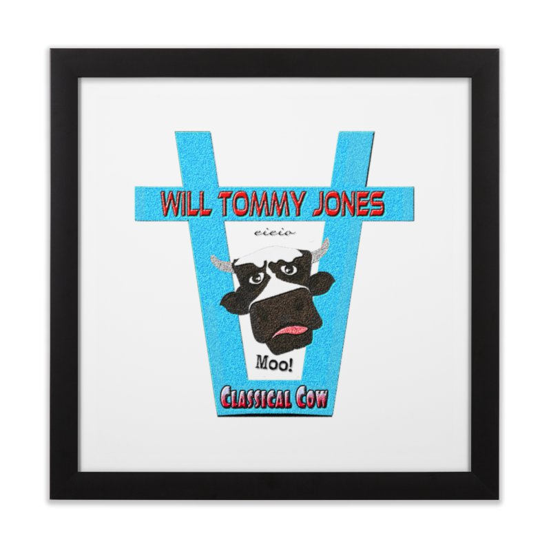 Will's Logo Merch Home Framed Fine Art Print by Will's Buckin' Stuff