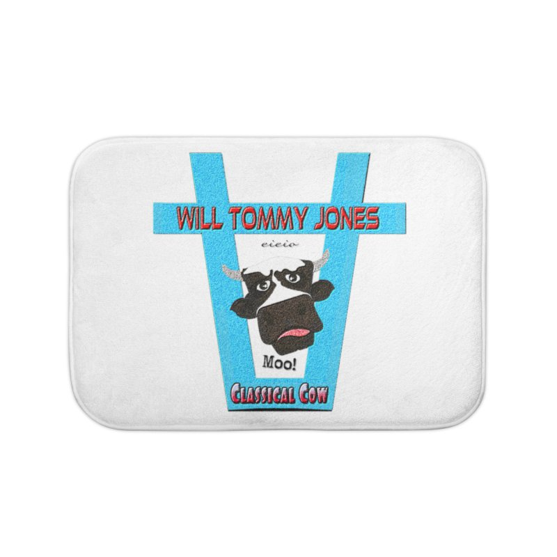 Will's Logo Merch Home Bath Mat by Will's Buckin' Stuff