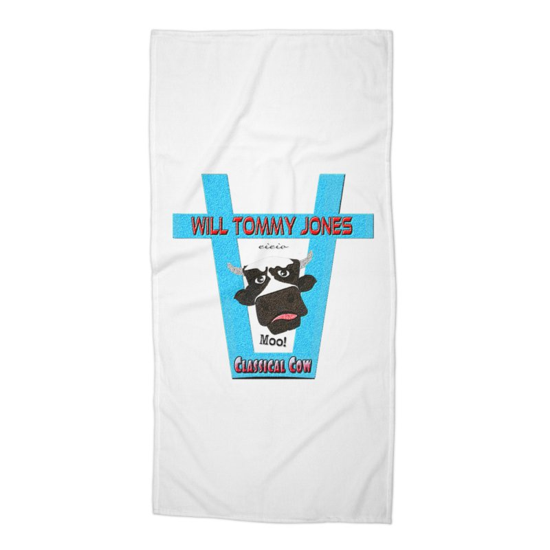 Will's Logo Merch Accessories Beach Towel by Will's Buckin' Stuff