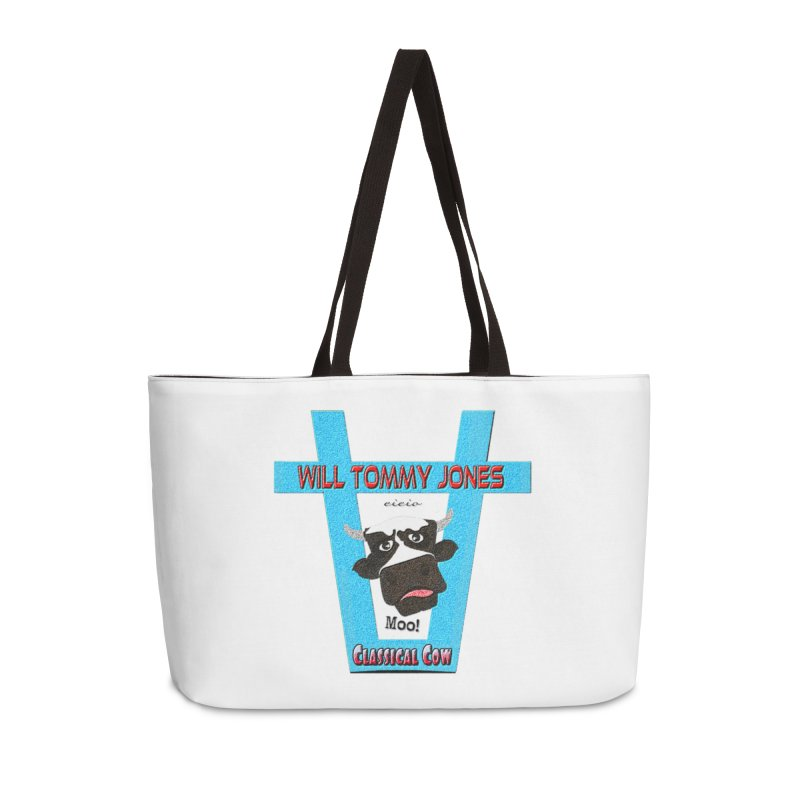 Will's Logo Merch Accessories Weekender Bag Bag by Will's Buckin' Stuff