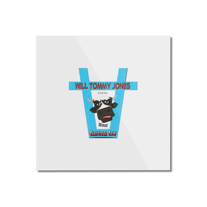 Will's Logo Merch Home Mounted Acrylic Print by Will's Buckin' Stuff