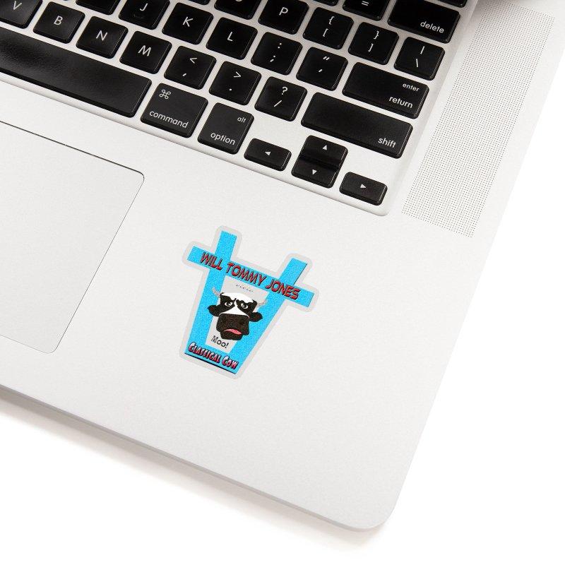 Will's Logo Merch Accessories Sticker by Will's Buckin' Stuff