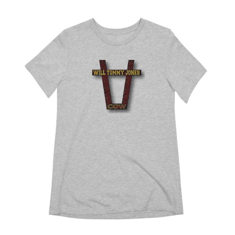 Will Logo 2 Women's Extra Soft T-Shirt by Will's Buckin' Stuff