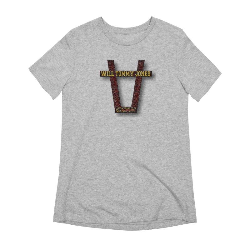 Will Logo 2 Women's T-Shirt by Will's Buckin' Stuff