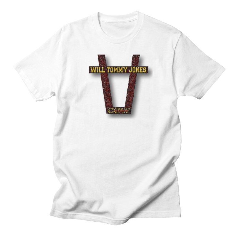 Will Logo 2 Women's Regular Unisex T-Shirt by Will's Buckin' Stuff