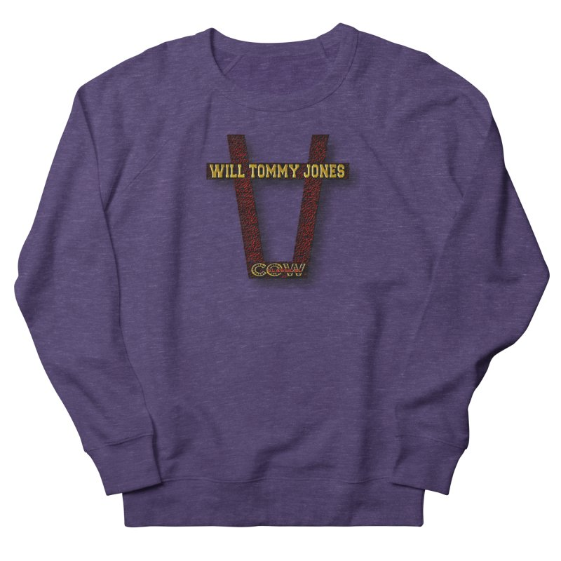 Will Logo 2 Men's Sweatshirt by Will's Buckin' Stuff