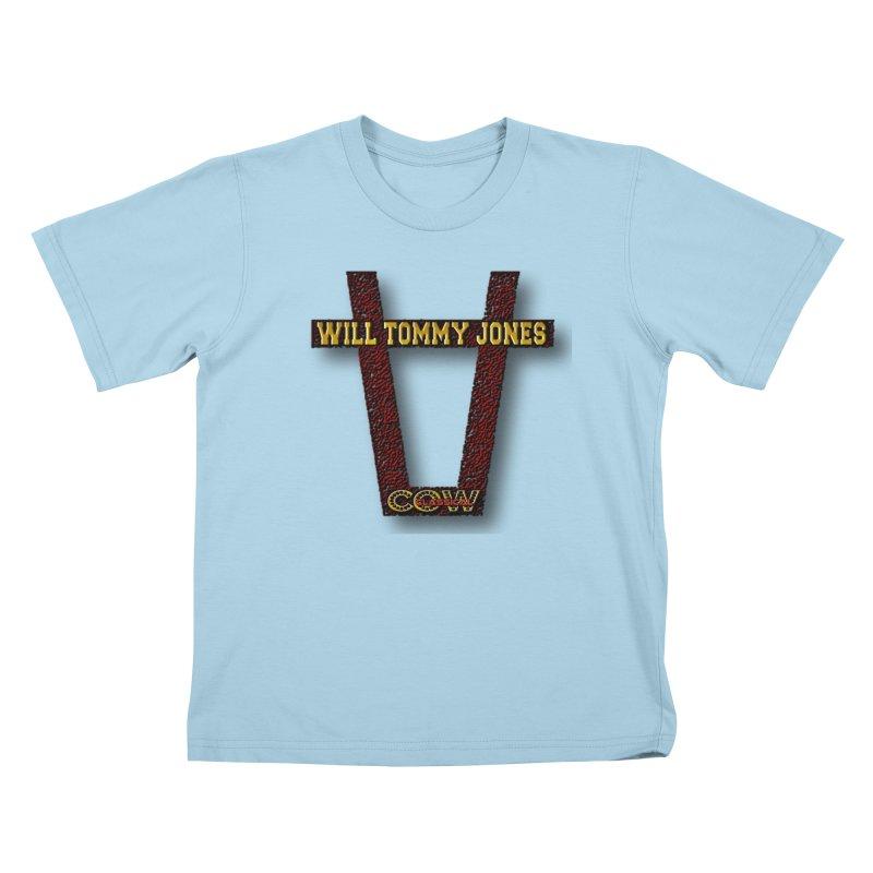 Will Logo 2 Kids T-Shirt by Will's Buckin' Stuff