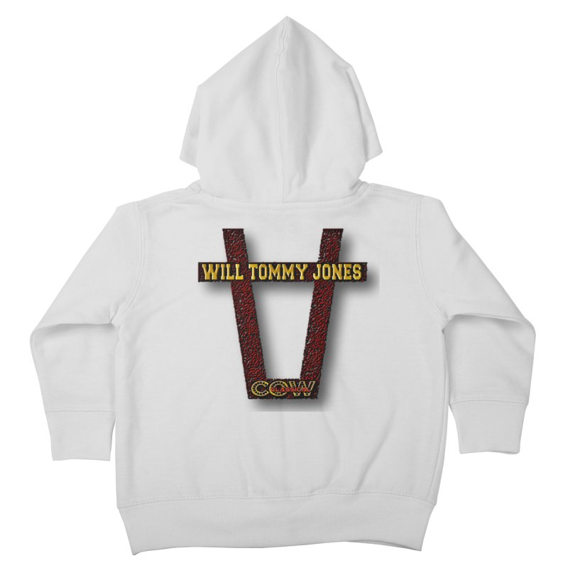 Will Logo 2 Kids Toddler Zip-Up Hoody by Will's Buckin' Stuff