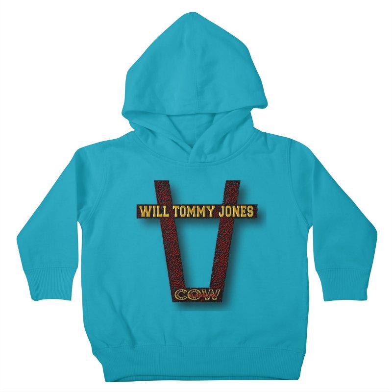 Will Logo 2 Kids Toddler Pullover Hoody by Will's Buckin' Stuff