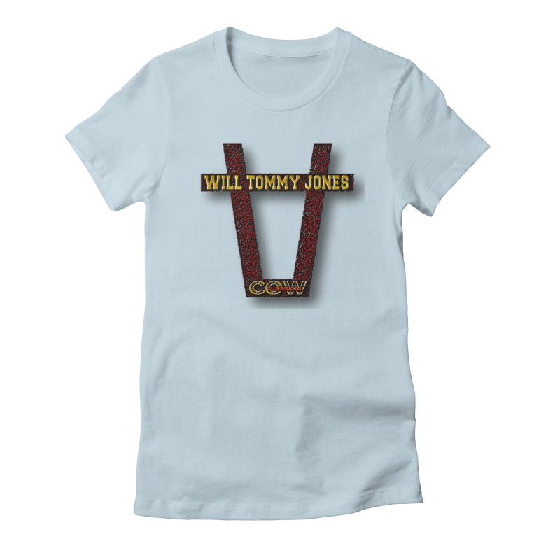 Will Logo 2 Women's T-Shirt by Will's Buckin' Stuff