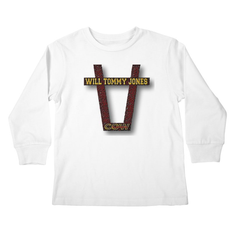 Will Logo 2 Kids Longsleeve T-Shirt by Will's Buckin' Stuff