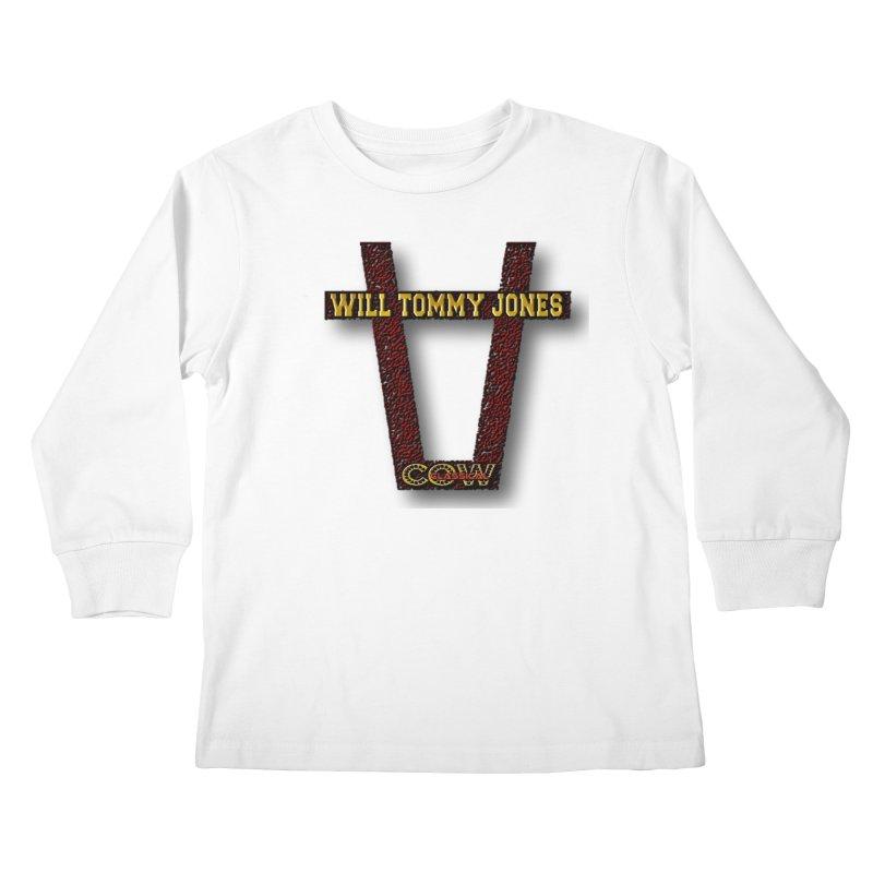 Will Logo 2 Kids Longsleeve T-Shirt by Will's Buckin' Stuff