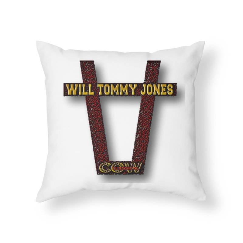 Will Logo 2 Home Throw Pillow by Will's Buckin' Stuff
