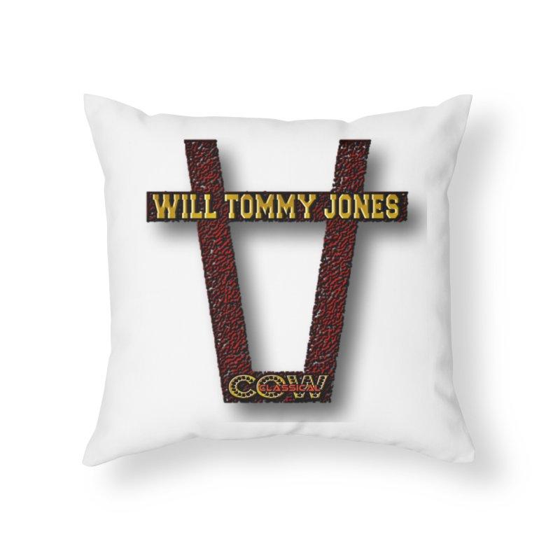 Will Logo 2 Home Throw Pillow by Will's Buckin' Stuff