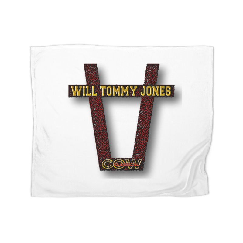 Will Logo 2 Home Blanket by Will's Buckin' Stuff