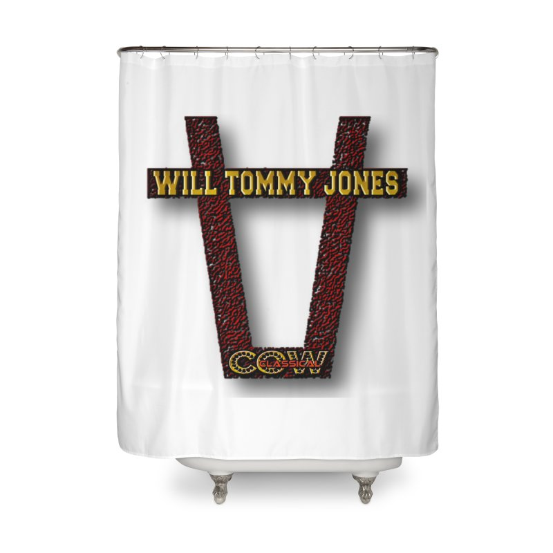 Will Logo 2 Home Shower Curtain by Will's Buckin' Stuff