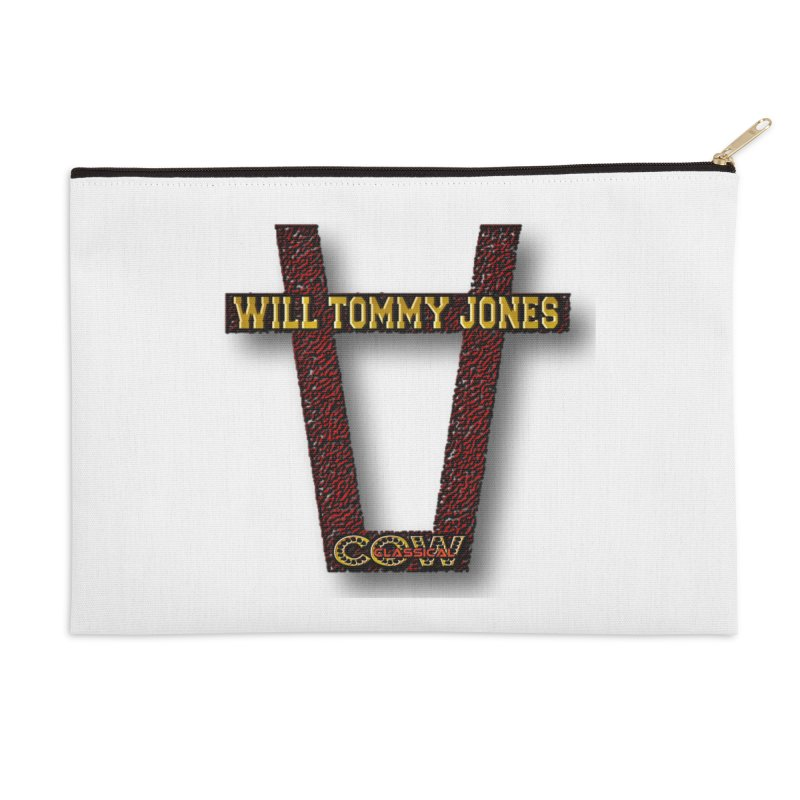Will Logo 2 Accessories Zip Pouch by Will's Buckin' Stuff