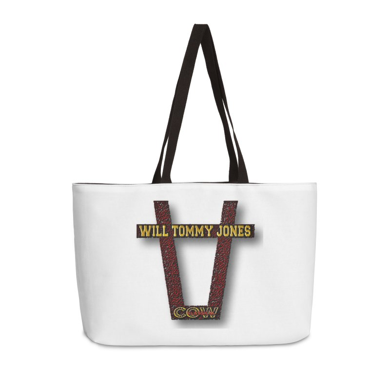 Will Logo 2 Accessories Weekender Bag Bag by Will's Buckin' Stuff