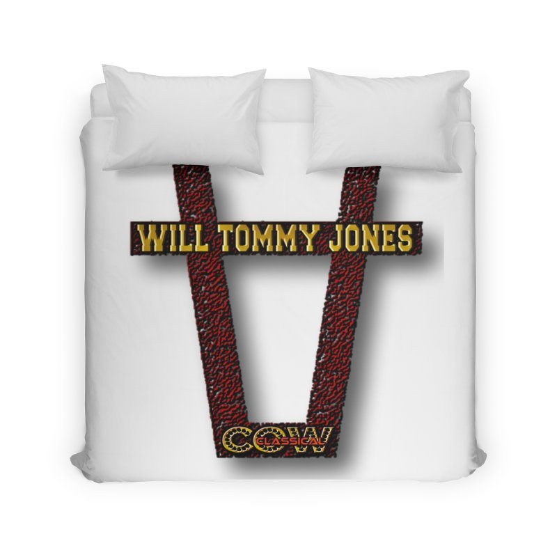 Will Logo 2 Home Duvet by Will's Buckin' Stuff