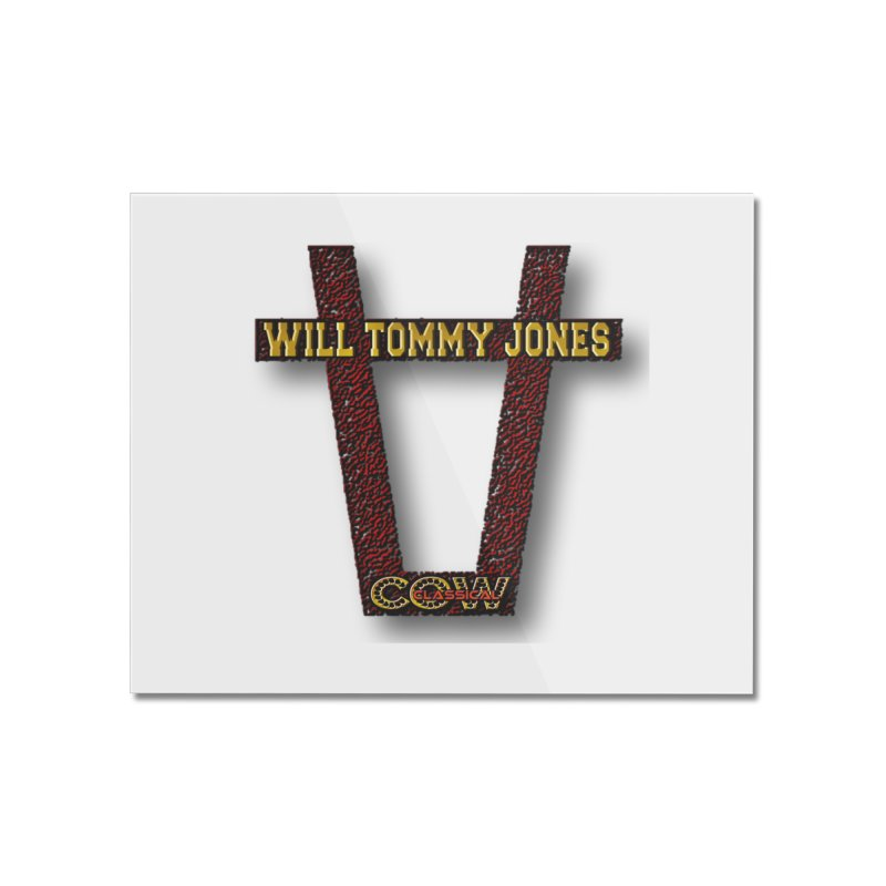Will Logo 2 Home Mounted Acrylic Print by Will's Buckin' Stuff