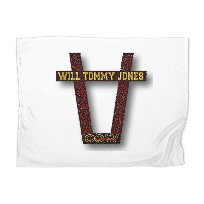 Will Logo 2 Home Blanket by Will's Buckin' Stuff